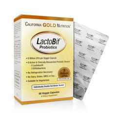 California Gold Nutrition, LactoBif Probiotics
