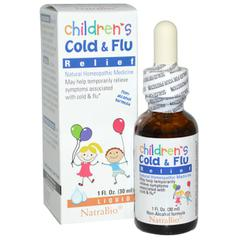 фото NatraBio, Children's Cold & Flu Relief