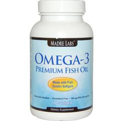 фото Madre Labs, Omega-3 Premium Fish Oil