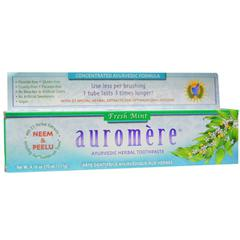 фото Auromere, Ayurvedic Herbal Toothpaste