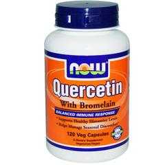 Now Foods, Quercetin with Bromelain