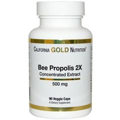 California Gold Nutrition, Bee Propolis 2X