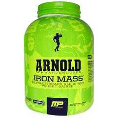 Arnold, Iron Mass, Weight Gainer