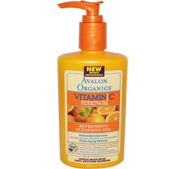 Avalon Organics, Vitamin C Renewal Gel