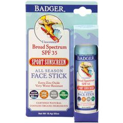 Badger Company, Face Stick, SPF 35