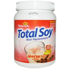 Naturade, Total Soy, Meal Replacement, Horchata Flavor