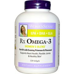фото Natural Factors, WomenSense, RxOmega-3