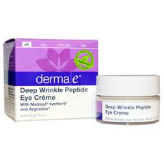 Derma E, Deep Wrinkle Peptide Eye Cream