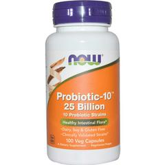 Now Foods, Probiotic-10 25 Billion