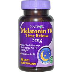 Natrol, Melatonin TR, Time Release