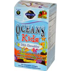 Garden of Life, Oceans Kids, DHA