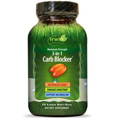 Irwin Naturals, 3-In-1 Carb Blocker