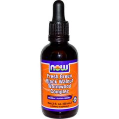 Now Foods, Fresh Green Black Walnut Wormwood Complex