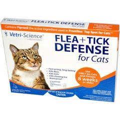 21st Century, Flea + Tick Defense for Cats