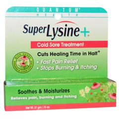 Quantum Health, Super Lysine, Cold Sore Treatment