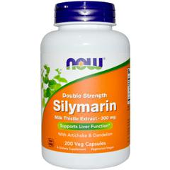 фото Now Foods, Double Strength Silymarin