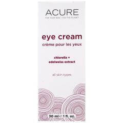 Acure Organics, Eye Cream, Chlorella + Edelweiss Extract