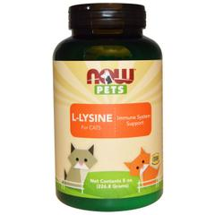 Now Foods, Now Pets, L-Lysine for Cats