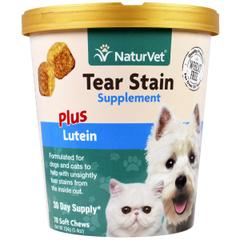 NaturVet, Tear Stain for Dogs & Cats
