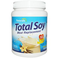 Naturade, Total Soy, Meal Replacement, Vanilla