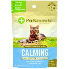 Pet Naturals of Vermont, Calming, For Cats