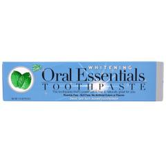 Oral Essentials, Whitening Toothpaste, With Zinc