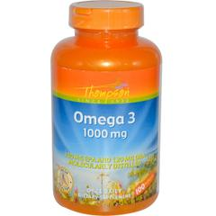 Thompson, Omega 3, 1000 mg