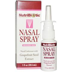 NutriBiotic, Nasal Spray, with Grapefruit Seed Extract