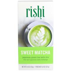 Rishi Tea, Japanese Green Tea Latte Mix, Sweet Matcha