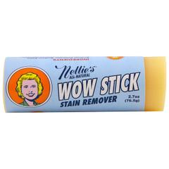 фото Nellie's All-Natural, Wow Stick, Stain Remover