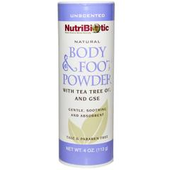 NutriBiotic, Natural Body & Foot Powder