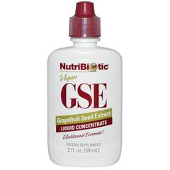 NutriBiotic, GSE Liquid Concentrate, Grapefruit Seed Extract