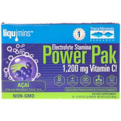 Trace Minerals Research, Electrolyte Stamina, Power Pak