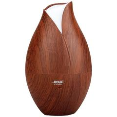 Now Foods, Solutions, Ultrasonic Faux Wood Grain Oil Diffuser