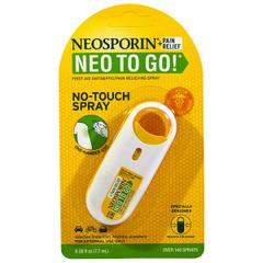 Neosporin, + Pain Relief, Neo To Go!, First Aid Antiseptic/Pain Relieving Spray