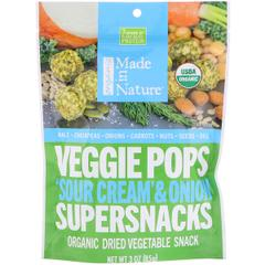 Made in Nature, Organic Veggie Pops