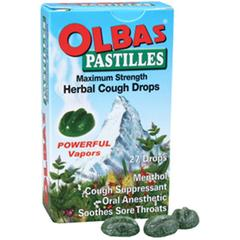 Olbas Therapeutic, Pastilles, Herbal Cough Drops
