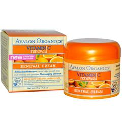 фото Avalon Organics, Vitamin C Renewal Cream